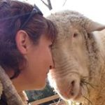 Deborah Schwink, President of Graze in Peace Farm Animal Rescue